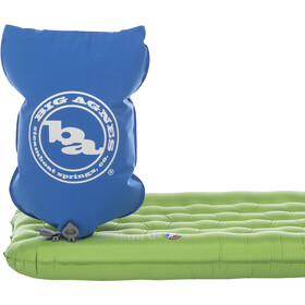 Big Agnes Insulated Q Core SLX Sleeping Pad Double Wide 102x183cm green